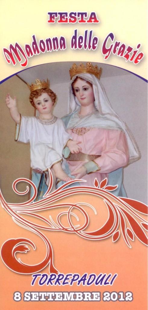 Torrepaduli 8 settembre festa della Madonna delle Grazie