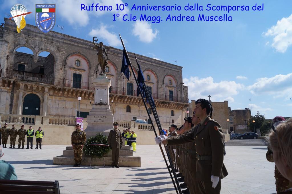 Ruffano 10° Anniversario della scomparsa di Andrea Muscella