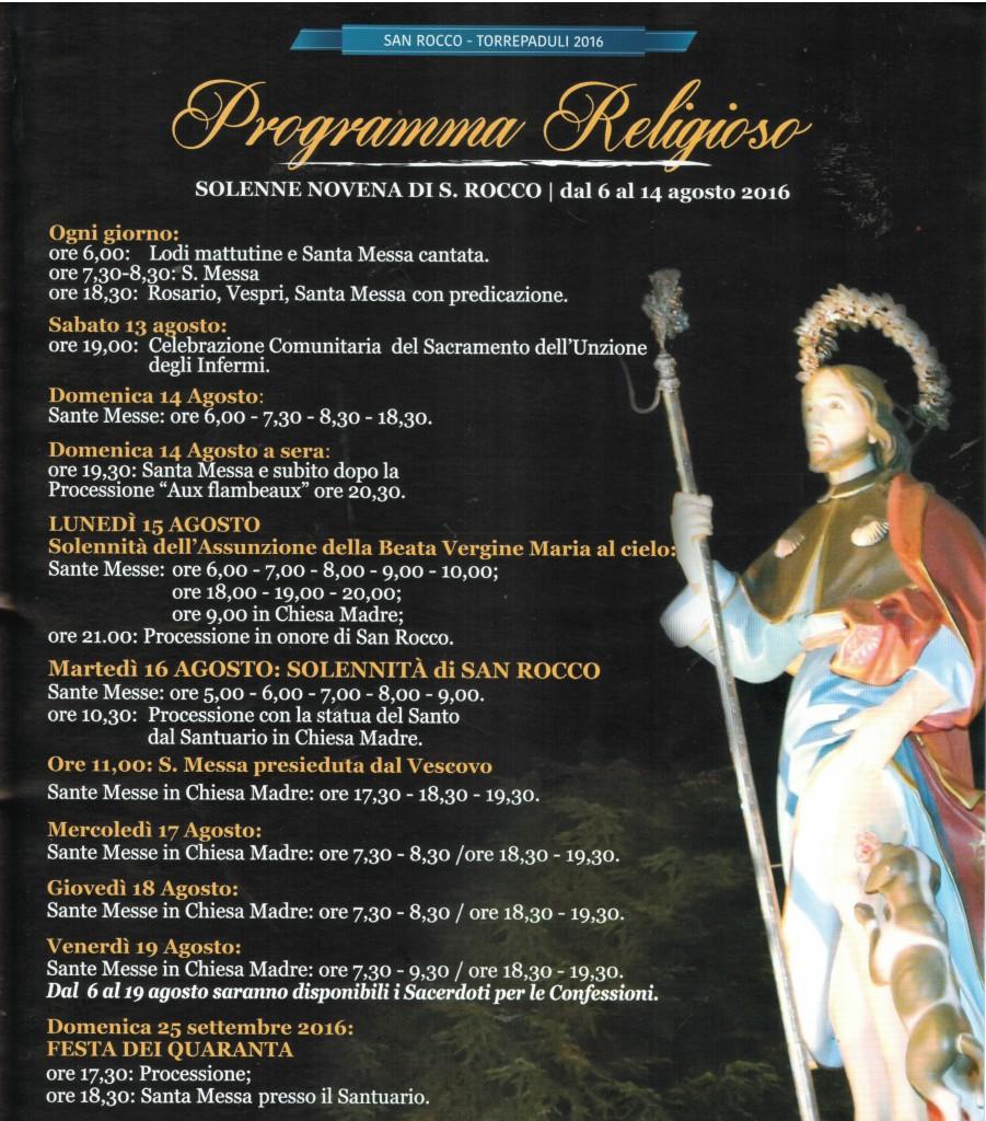 Festa San Rocco Torrepaduli 2016 2