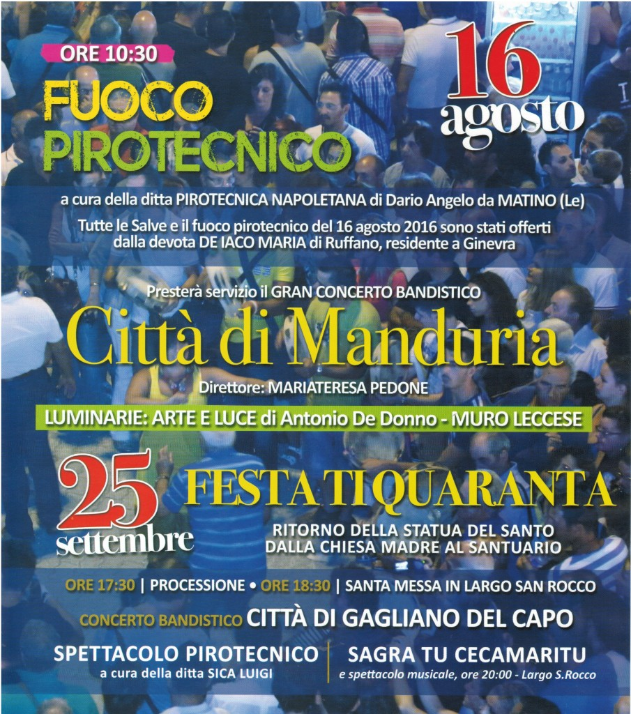Festa San Rocco Torrepaduli 2016 5
