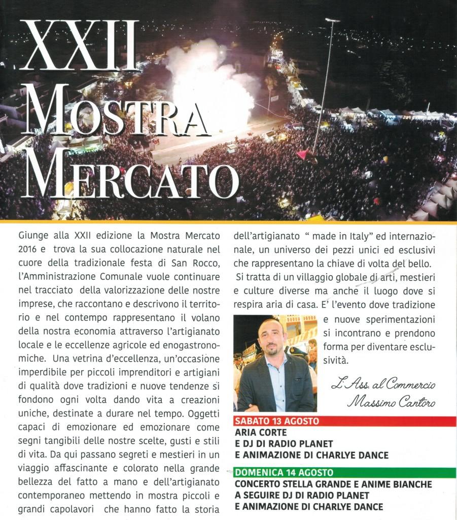 Mostra mercato Fiera San Rocco 2016